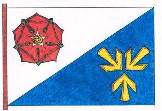 Vlajka obce Vidov
