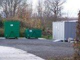 Sběrný dvůr - kontejner na nebezpečný odpad