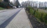 Chodník - pohled k zastávce