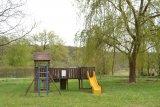 Dětské hřiště nad jezem