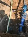 Výkop vodovodu