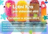 Letní hra pro vidovské děti - plakát