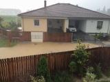 Záplava při přívalových deštích